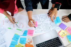 Teambuilding créatif creation produit
